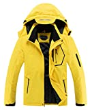 Men's Waterproof Warm Winter Snow Coat Hooded Raincoat Ski Snowboarding Jacket