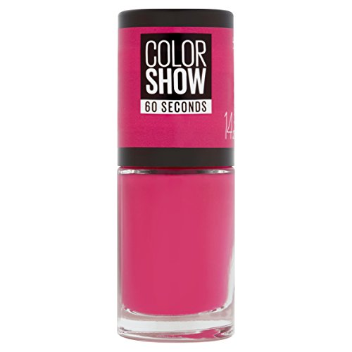 Maybelline New York Color Show, Esmalte de Uñas Secado Rápido, Tono: 014 Show Time Pink