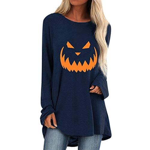 TWIFER 2020 Halloween Party Kostüm Langarmshirt Geist Sweatshirt Pullover Pullover
