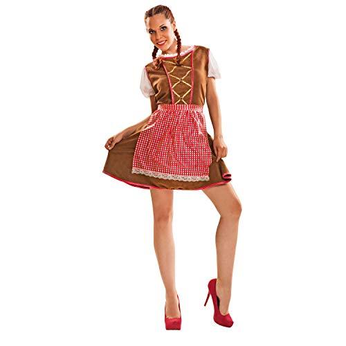 Tiroler kostuum sierlijk voor vrouw