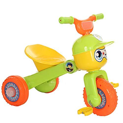 SHARESUN kinderen driewieler voor 2 jaar oud en omhoog jongens meisjes, peuter driewielers evenwicht fiets vouwen kind Trike met Flash wiel voor 2-6 jaar oude kinderen lopen 3 Wheeler