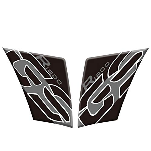 Motorcycle Fuel Tank Cover Sticker Reflective And Waterproof Protection Sticker For R1200GS R 1200 GS 2005-2012 (Color : B 2)