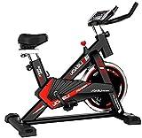 Bicicleta Spinning Perpetual Fitness Bici Estática Indoor Volante Inercia 9KG Resistencia Ajustable Monitor LCD Gimnasio Ejercicio y Entrenamiento Casa Hombre Mujer