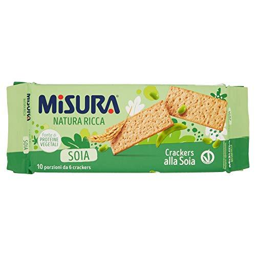 Misura Crackers di Farina di Frumento Tipo 2 e Farina di Soia - 400 g