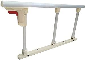 Zfggd playpen Bed Rails Hospital Safety Assist Handle Folding Bedside Grab Bar Bumper  Bed Guard Rails For Elderly Adults Toddler  Color