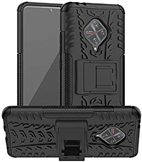 CoKo Poly Carbonate Back Cover for Vivo S1 Pro - Black
