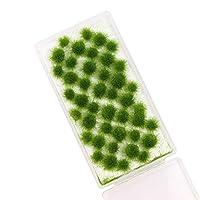 草 ジオラマ用 モデル草 緑色 5mm 情景コレクション グラス模型 建物モデル 装飾 風景 箱庭 鉄道模型 ジオラマ PJ06DaG-1JP