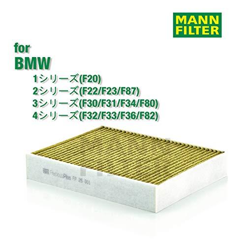 MANN-FILTER FP 25 001 Cabin Air Filter - FreciousPlus Biofunctional Pollen Filter