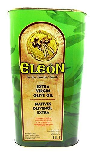 Tzortzis Family'' Olivenöl 1 Liter Extra Vergine-Kaltgepresst aus Lesbos-Griechenland |Extra Nativ|PREMIUM| über 100 Jahre Olivenöl-Tradition. Einführungspreis zum kennenlernen