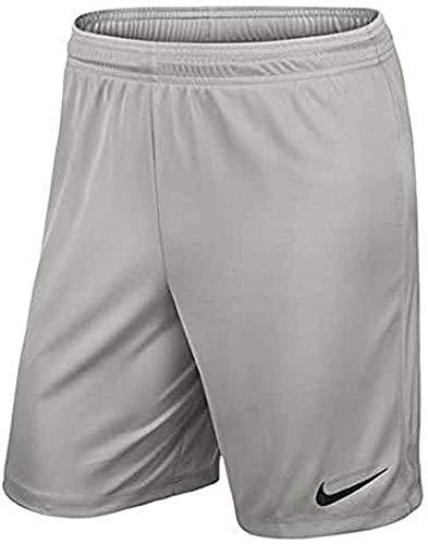 Nike Park II Knit Short NB Pantaloncini, Uomo, Team Pewter/Nero, L