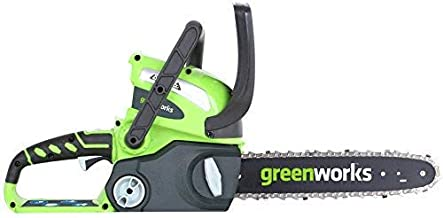 Greenworks 12-Inch 40V Chainsaw, battery & Charger included 2000219