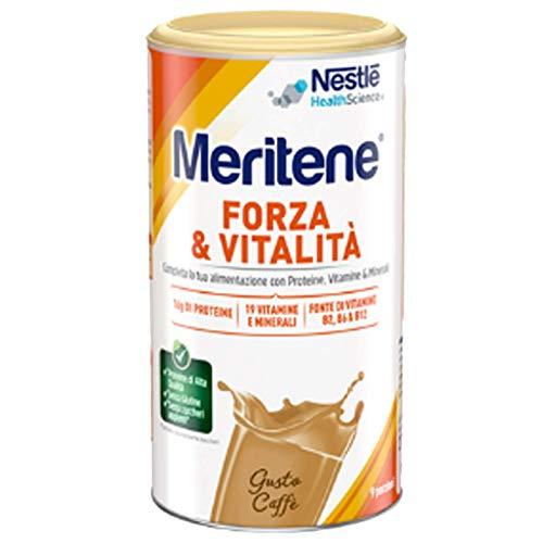 Nestlé Meritene Preparato Solubile per Bevanda, Ricco in Proteine