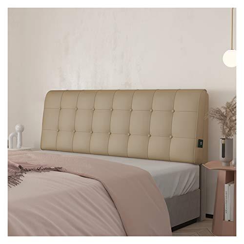 Llenador de separación de almohada de cabecera, posicionamiento grande de posicionamiento respaldado de respaldo almohada de cuña, protectores decorativos para cabecera, tamaño personalizable