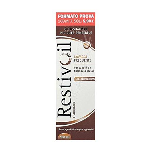 RestivOil Olio-Shampoo Fisiologico Capelli Normali E Grassi 100 ml