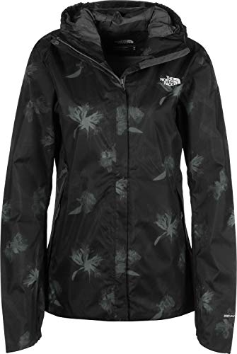 The North Face Quest, Giacca Impermeabile Donna, Grigio (Vanadis Grey Flower Print), S