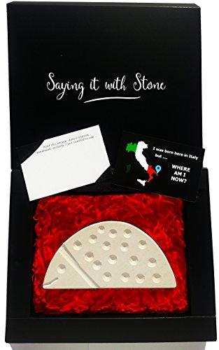 Marienkäfer aus Stein - Symbol für Liebe, Glück, Entschlossenheit und die Fähigkeit, Arbeit und Erholung in Einklang zu bringen - Box und Nachrichtenkarte enthalten - Geschenk