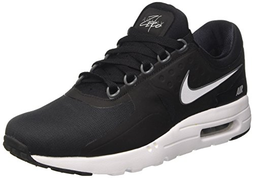 Nike Air Max Zero Essential, Sneakers Basses Homme, Multicolore (Black/White/Dark Grey/Wolf Grey), 40.5 EU
