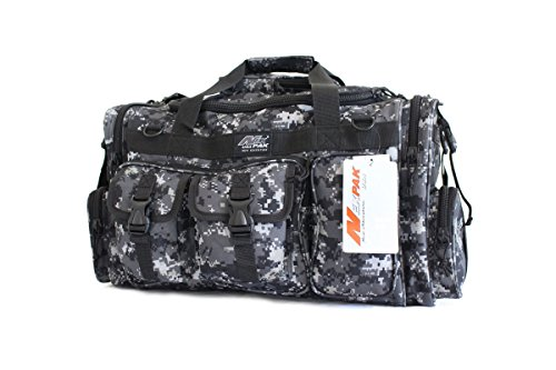 """26""""Tactical Duffle Military Molle Gear Shoulder Strap Range Bag TF126 Urban Camouflage"""