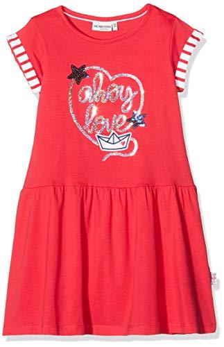 Salt & Pepper Mädchen 03113232 Kleid, Rot (Lollipop Red 344), 152 (Herstellergröße: 152/158)