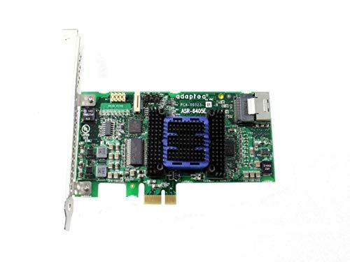 Adaptec RAID 6805E ROC Controller 6GB/s SAS 2.0 PCIe 8port intern JBOD 0 1 10 1E mit 2X mSAS-Kabel Kit