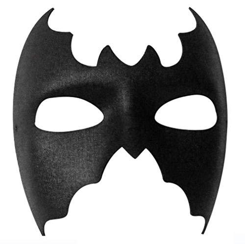 Chauve-souris Noire Fille Super Héros Déguisement Masque Pour Les Yeux (struts-6809)