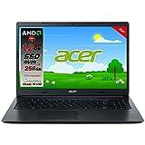 Notebook portatile Acer Slim Amd A4 3020 di ultima generazione, Ram 12GB, SSD PCIe NVMe 256GB, Display 15.6'...