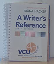 A Writer's Reference, VCU Custom Edition, 40th Anniversary Edition by Hacker (2007-08-01)