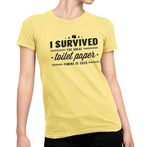 Cloud City 7 Ik overleefde de grote wc-papier hongersnood van 2020 Women's Performance T-Shirt