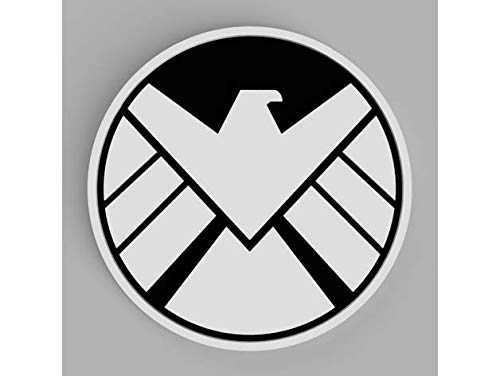 Juego de 5 posavasos con escudo de Marvel