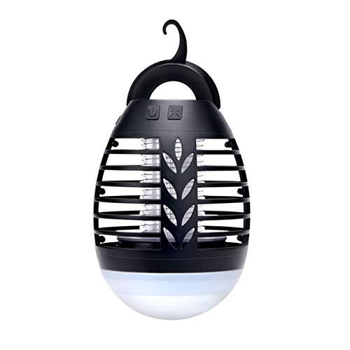 WLQWER Lámpara Asesina Mosca Eléctrica Insecto UV Ligero UV, Trampa De Insectos...
