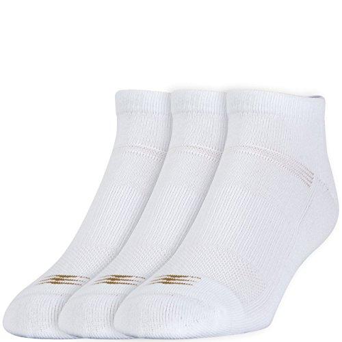 PowerSox Coolmax Herren Socken, niedrig geschnitten, Größe L, Weiß, 4 Stück (12 Paar)