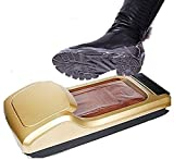 XLBHSH Práctico dispensador automático de cubierta de zapatos, máquina de zapatos de plástico para oficina en casa, con 2 rollos -1200 moldes de zapatos