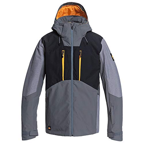 Quiksilver Mission Plus Insulated Snowboard Jacket Mens