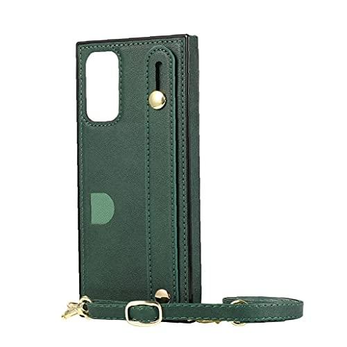 FeelMeet Caja del teléfono de la PU de protección de la Tarjeta de Crossbody Cubierta Titular de la Cartera de Cobertura Total con la Mano la Correa de Hombro Ajustable