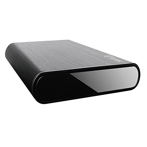 """FANTEC 16593 DB-ALU3-6G - Format de 8.89 cm (3.5"""") - Capacité de 2TO - SATA 6G - USB 3.0 SUPERSPEED - Boîtier en aluminium noir"""