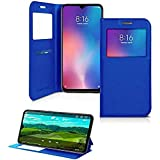 iPOMCASE Protective Case with Card Holder for Xiaomi Mi9 SE, Blue