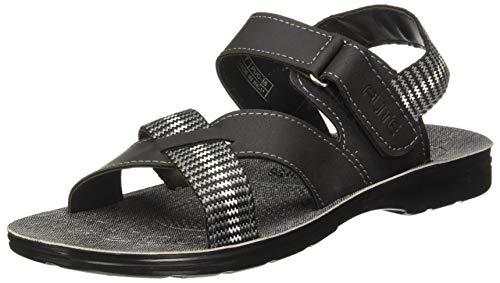 FLITE Men's Black Flip Flops Thong Sandals- 8 UK/India (42 EU) (PUGN45G)