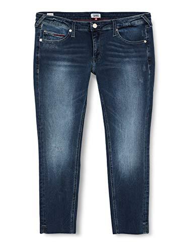 Tommy Jeans Mujer Sophie Low Rise Skny Ankle Dlydk Straight Jeans, Azul (Denim 1bk), W24/L30