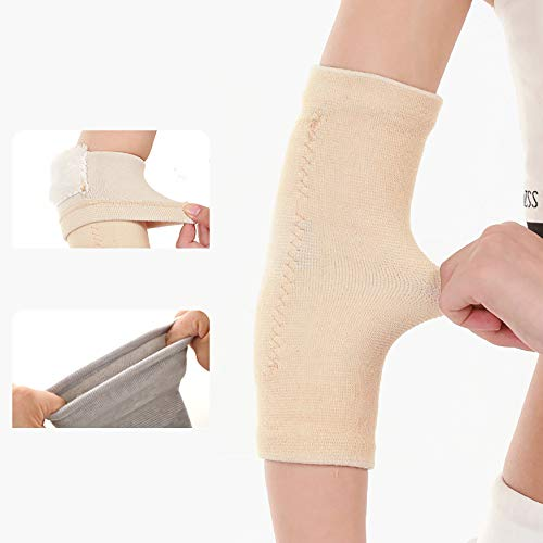Omenluck 1 Pair Elbow Support Sleeve Arm Sleeves Ideal For Sprains Joint Pain Sports Use Keeping Warm Antislip