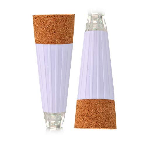 DierCosy Cork LED Bottiglia Luce 2Pcs Vino USB Luce Ricaricabile del Tappo di Bottiglia di Lampada Cork Luce di Notte