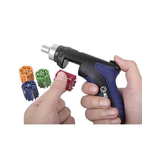Kobalt 24-in-1 Auto-loading Ratchet Screwdriver, Multiple Sizes for Multiple Applications. #0525845