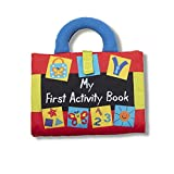 Melissa & Doug K's Kids My First Activity Book 8-Page Soft Book for Babies and Toddlers