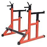 TGSC Barra per trazioni Squat Rack Bench Press Bilanciere per Fitness da Uomo Scaffale Mul...
