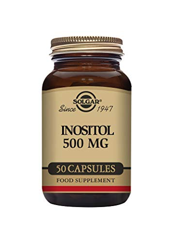 Solgar Inositol 500 mg Vegetable Capsules - Pack of 50