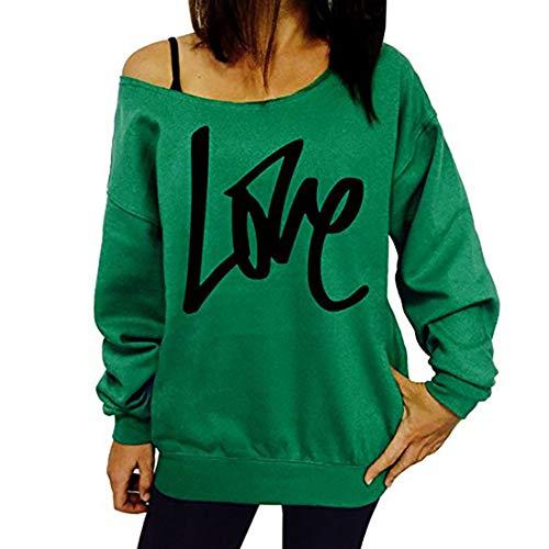 Z&Y Glaa Damen Mama Pullover mit Rundhalsausschnitt Übergroßes Langarm-T-Shirt Pullover Niedliches Sweatshirt mit Top-Letter-Print Rundhals-Sweatshirt mit langem Ärmel Letter-Print Mom-Pullover