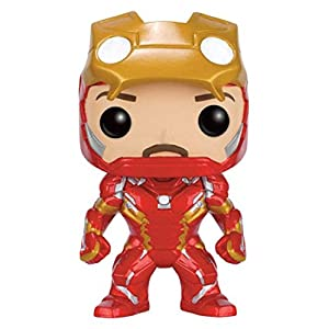 Funko Pop Iron Man sin máscara (Capitán América: Civil War 136) Funko Pop Capitán américa