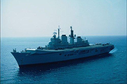796032_HMS Illustraties_ Koninklijke Marine Vliegtuig Vervoerder A4 Photo Poster Print 10x8
