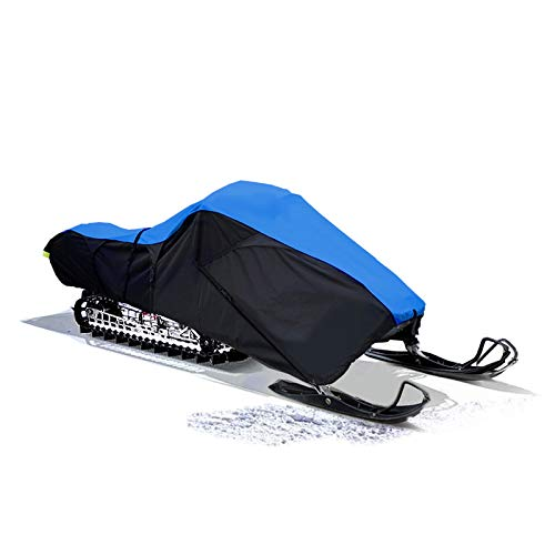 """SnowShield Heavy Duty Trailerable Snowmobile Storage Cover Fits up to 115"""""""