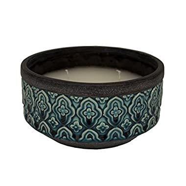 OutDoozie EODCH00008N-65B Classique 3 Wick Citronella Candle, Blue