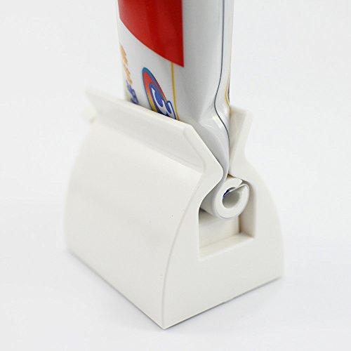 KaLaiXing Merk Rolling Tandpasta Tube Squeezer Gemakkelijk Knijpen Dispenser Badkamer Accessoire-Wit